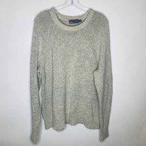 Vince Mens Raglan Crew Neck Sweater Tan B25
